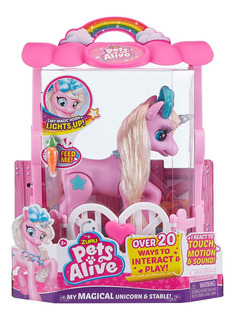 Pet Alive Unicornio Interactivo Zuru 9502 (5570)
