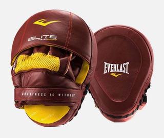 Manoplas De Piel Profesional Elite Leather Box Boxing