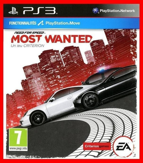 Need For Speed Most Wanted Ps3 Psn Promocao