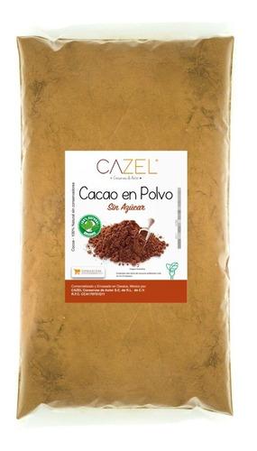 Imagen 1 de 4 de Cacao En Polvo Cocoa 100% Natural Oaxaca Artesanal 1kg