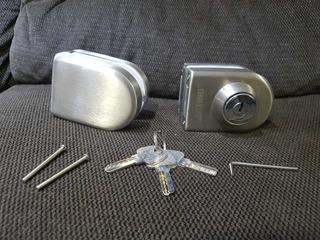 Cerraduras Puertas Magnéticas De Vidrio Madera Metalica