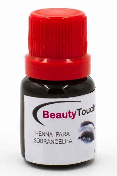 1 Frasco Henna Rena Sobrancelha Beauty Touch Frete R$ 16,00