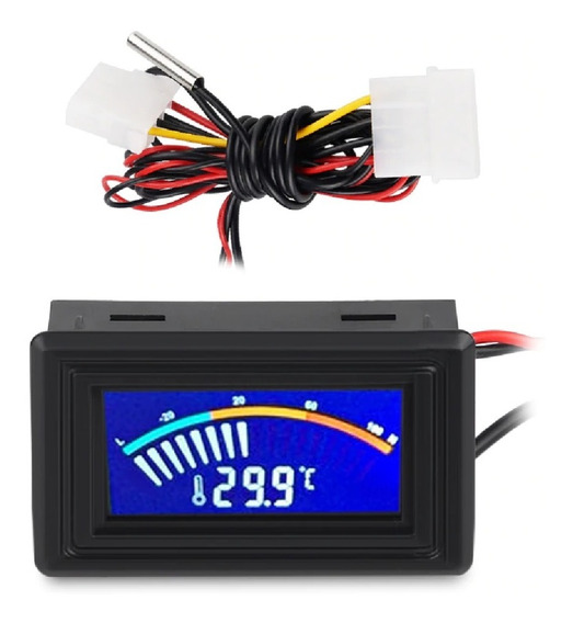 Termômetro Digital Overclock Pc Sensor Temperatura Cpu C / F