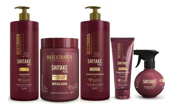 Shitake Plus Sh + Cd 1l + Más 1kg + Fin 200g + Spray 300ml