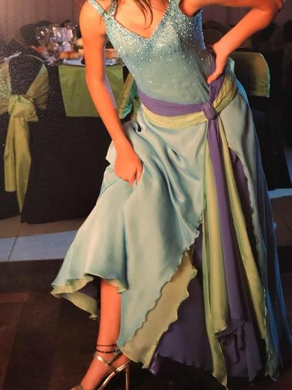 Vestido De Fiesta De 15 En Perfectas Condiciones