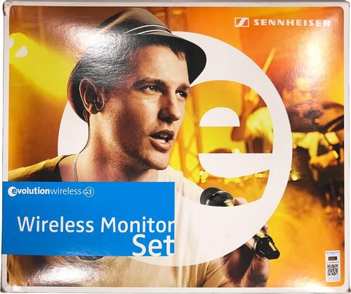 Imagen 1 de 10 de Sistema Monitoreo Inalámbrico Sennheiser Ew 300 Iem G3 Usado