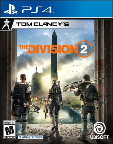 Imagen 1 de 2 de Tom Clancy's The Division 2 Ps4 Fisico Sellado Nuevo