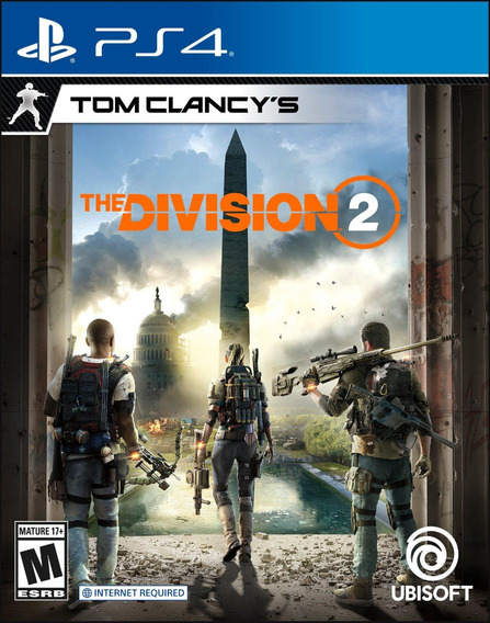 Tom Clancys The Division 2 Ps4 Fisico Sellado Nuevo Original