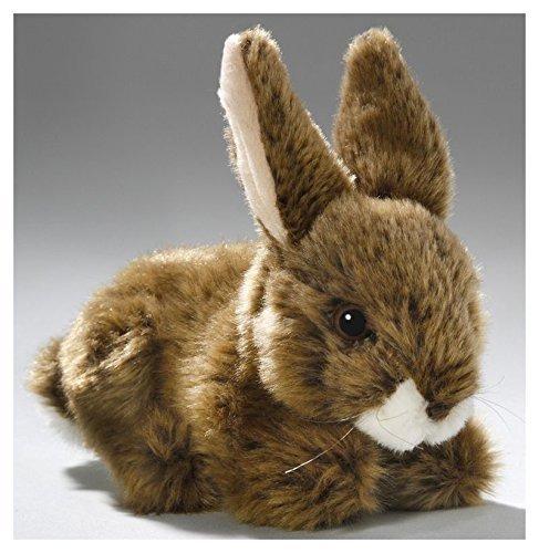Conejo, Conejito, Sentado, Marrón, 6.5 Pulgadas, 17cm, Felpa