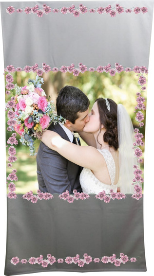 Toalha 1.35x.70 Banho Kit2 Unid.personalizad. Para Casamento