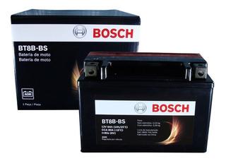Bateria Moto Bosch Bt8b-bs 8ah 12v Yamaha Mt-03 320 Xt 660 R