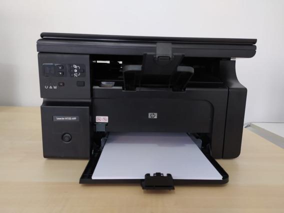Impressora Multifuncional Hp M1132 Com Toner Usada