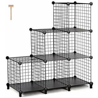 Closet Organizador De 6 Cubos Metálico Recamara Oficina