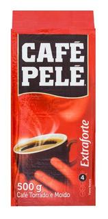 Café À Vácuo Torrado E Moído Extra Forte Pelé 500g