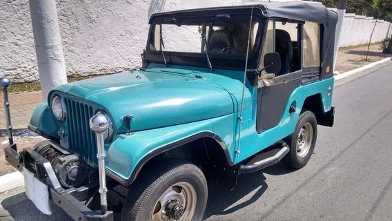 Jeep Cj5 Willys 1967 4x4 4 Marchas
