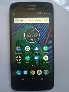 Motorola Moto G5 Plus Xt1683 32gb 2gb Dtv Carregador Turbo