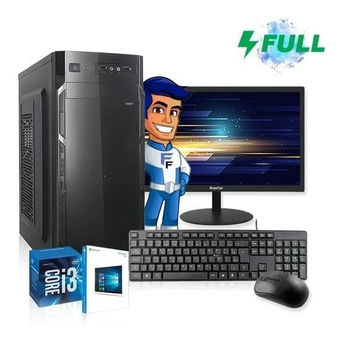 Imagem 1 de 5 de Computador I3 Completo Intel Core 8gb Hd 500gb Monitor