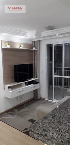 Imagem 1 de 15 de Apartamento Em Jardim Sao Francisco  -  São Bernardo Do Campo - 11050