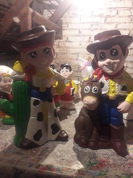 6 Centros De Mesa De Toy Story Grande