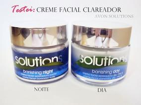 Creme Facial Aclaradora Solutions Banishing Day Y Night Avon