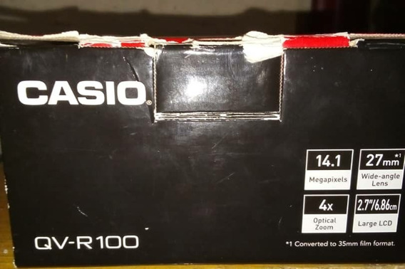 Cámara Digital Casio Qv R100