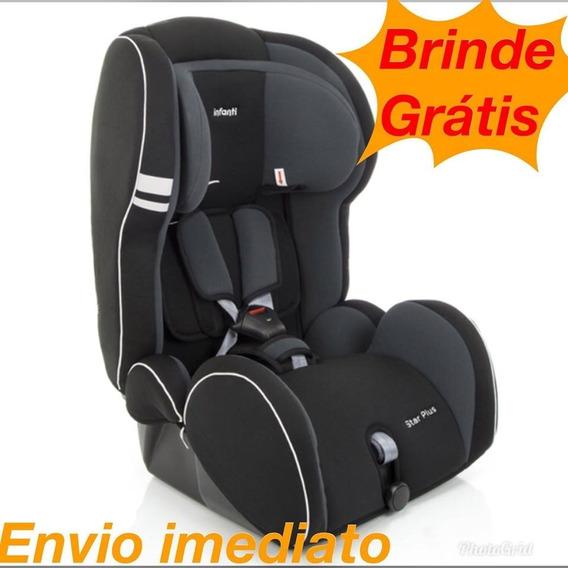 Cadeira Auto Reclinável Star Plus Preto - 9 A 36kg - Infanti