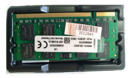 Memoria Kingston Notebook Ddr2 2gb - Seminova