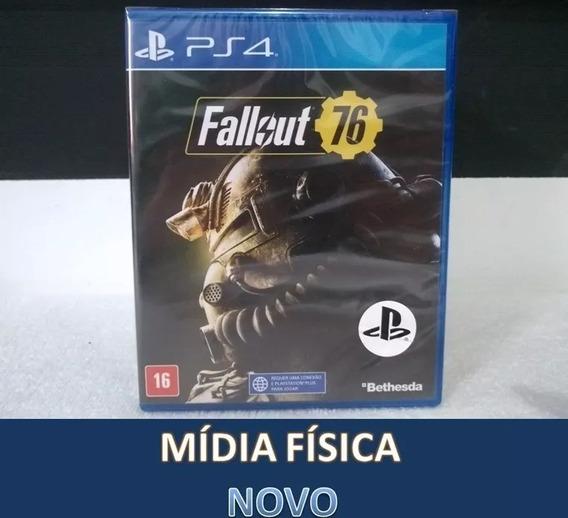 Fallout 76 - Midia Fisica Original E Lacrado - Ps4