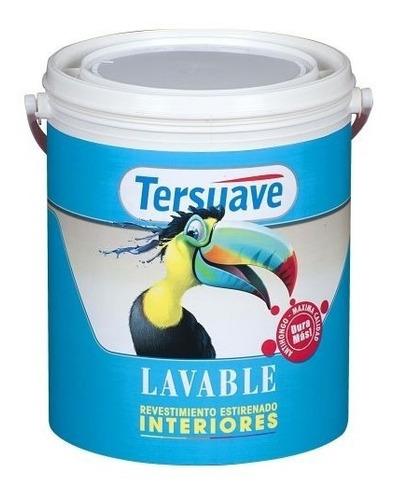 Imagen 1 de 8 de Latex Super Lavable 4 Lts Tersuave Pintura Interior Rosario