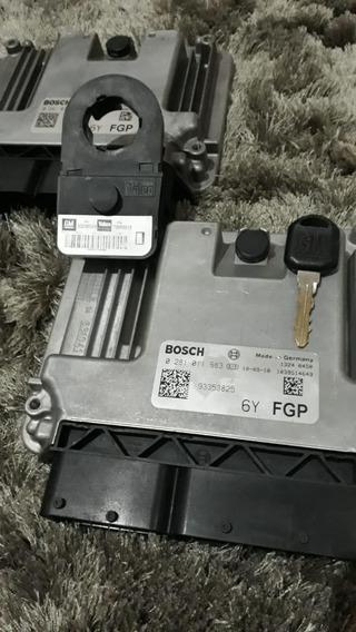 Kit Módulo De Injeção Gm S10 2.8 Diesel 0281011983