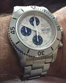 Breitling Steelfish 2015 Com Nota Fiscal Troco Rolex E Tag