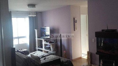 Imagem 1 de 20 de Apartamento Com 2 Dormitórios À Venda, 64 M² Por R$ 235.000,00 - Vila Santa Teresa (zona Sul) - São Paulo/sp - Ap0118