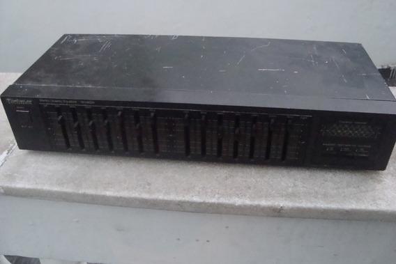 Equalizador Technics Sh-8028, Só Não Acende Os Leds!