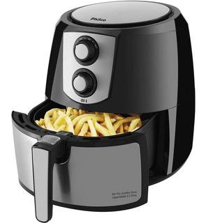 Fritadeira Sem Óleo Air Fry Pro Philco 5,5 Itros Jumbo 1800w