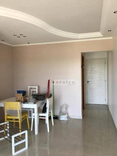 Imagem 1 de 22 de Apartamento Com 3 Dormitórios À Venda, 68 M² Por R$ 380.000,00 - Vila Euclides - São Bernardo Do Campo/sp - Ap1162