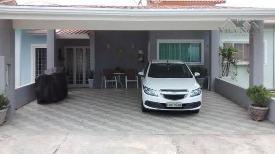 Casa Residencial À Venda, Jardim Panorama, Indaiatuba. - Ca0424