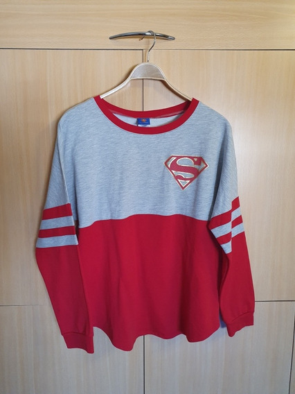 Buzo Original Superman Impecable Talle Xl