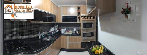 Imagem 1 de 30 de Apartamento Com 3 Dormitórios À Venda, 76 M² Por R$ 414.000,00 - Jardim Nova Taboão - Guarulhos/sp - Ap1506