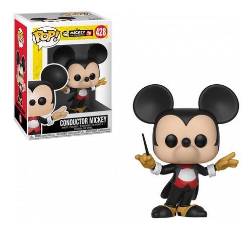 Figura Funko Pop Disney Mickey's 90th Conductor Mickey 428