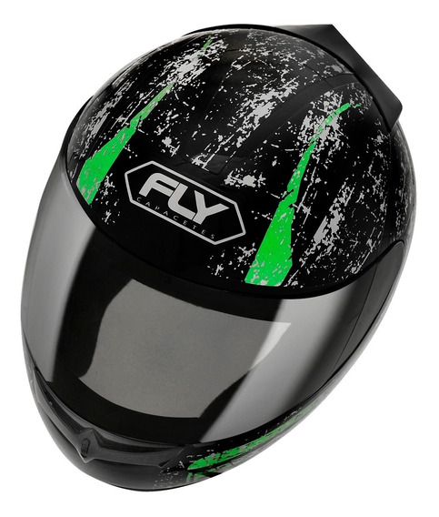 Capacete Fly Drive Hg Stripe
