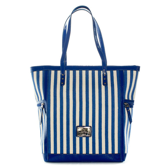 Tote Mujer Xl Extra Large Beach Azul