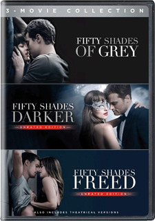 Fifty Shades Trilogia [original, Dhl] 3 Movie Collection Dvd