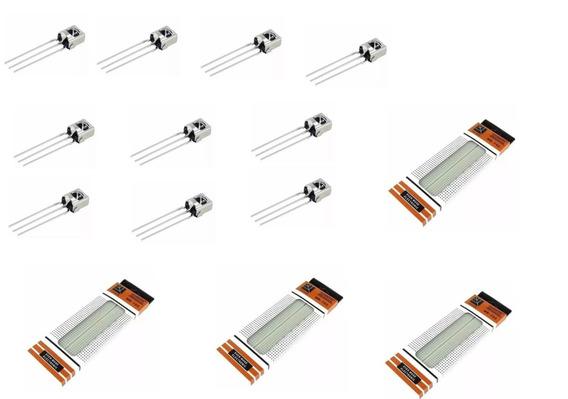 Protoboard 830 Furos+10 Receptor Infravermelho Tl1838 Vs183