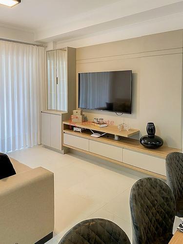 Ref.: 3103 - Apartamento Com 3 Dormitórios Mobiliado No Coração Da Meia Praia - 1158