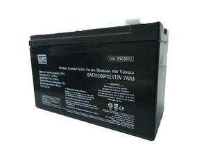 Bateria Weg 12v 7ah P/ Alarme/no Break/cerca Eletrica