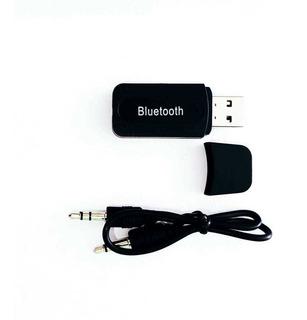Adaptador Receptor Bluetooth Usb P2 Música Som Carro Casa