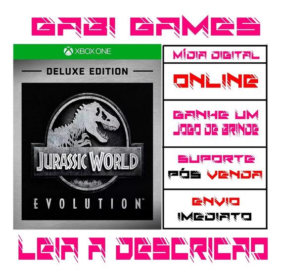 Jurassic World Evolution Deluxe Edition - Xbox One - Midia Digital Online + Brinde