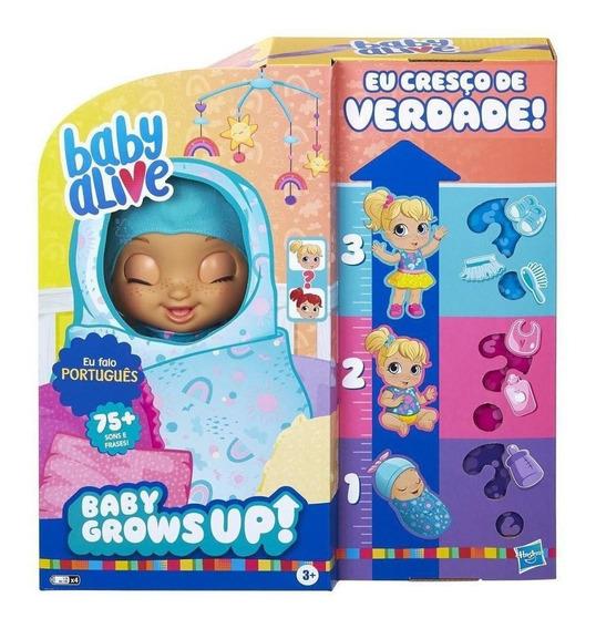 Nova Baby Alive Grows Up Surprise Cresce Feliz E Fala Hasbro