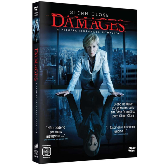 Seriado Damages 1ª Temporada 3 Discos Dvd - Original