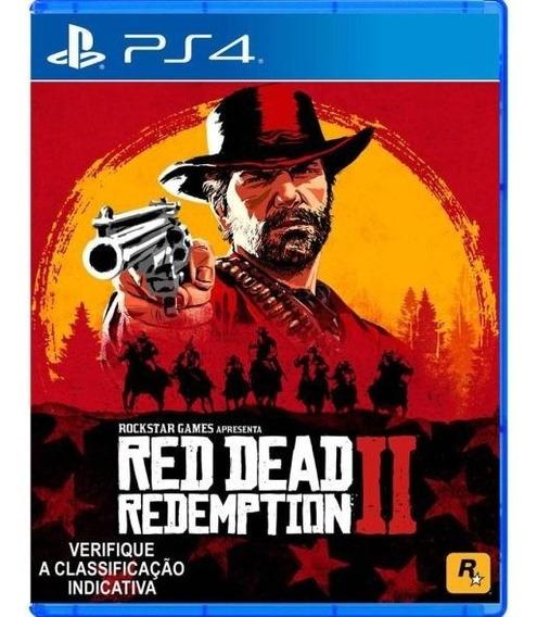 Red Dead Redemption 2 - Original Ps4 - Mídia Física Seminovo